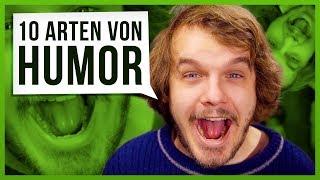 10 Arten von Humor