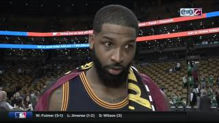 Tristan Thompson shares LeBron