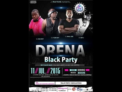 Drena Black Party 2015 -Real Family-Cabinda/Angola