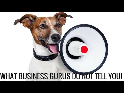 Starting a Business What Business Gurus Do Not Tell You