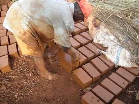 Clay Brick making in Kampala Uganda