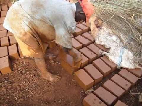 Clay Brick making in Kampala Uganda