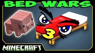 ч.03 Bed Wars Minecraft - Боевой Поросёнок