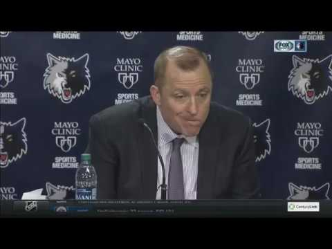 Timberwolves' Thibodeau on loss to Hornets: 'It's all decision making'