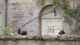 Filming Downton Abbey Season 5 in Bampton, Oxfordshire