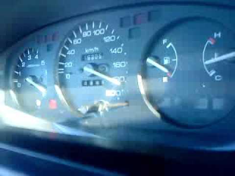 Honda Civic EG3 B18C4 0 - 200 acceleration