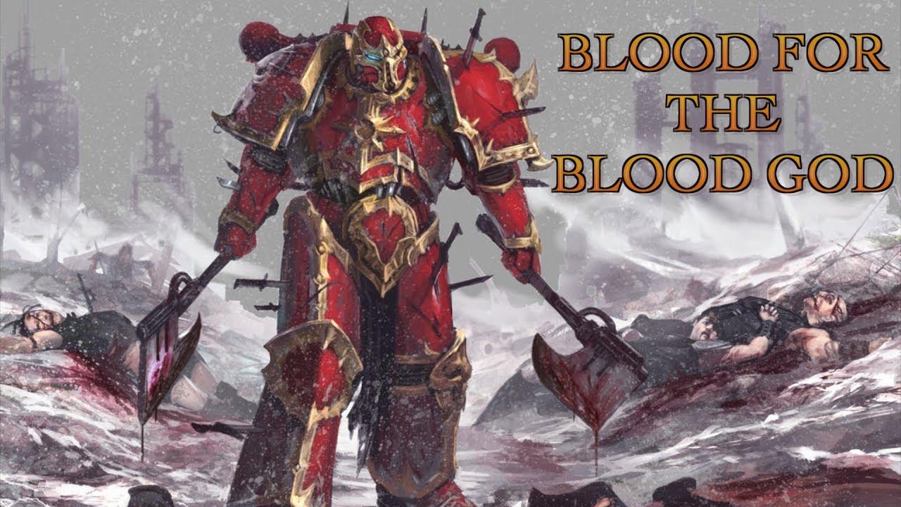 Image result for warhammer 40k blood for the blood god