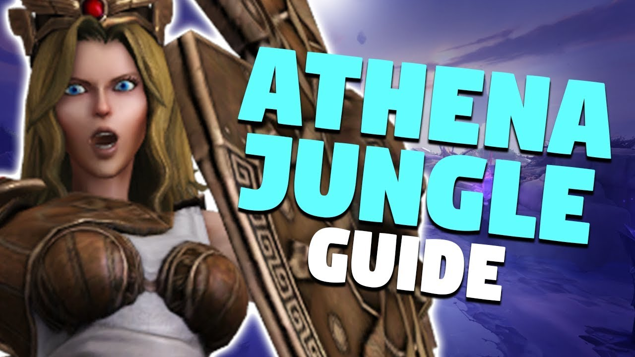 Smite Athena Jungle Guide In Depth Gameplay Commentary Youtube