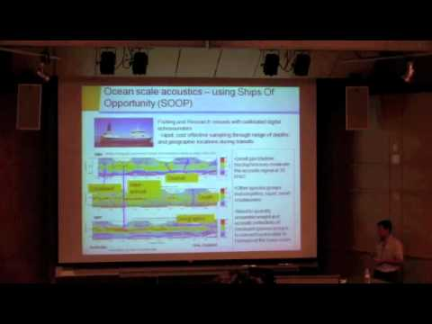 Rudy Kloser - Sound advice: Acoustical insights into deepwater fisheries and ecosystems