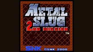 Metal Slug 2nd Mission Playthrough (Neo Geo Pocket Color)