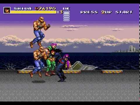 Streets of Rage 3 UNCENSORED Hack (Japanese Version Restored) Shiva No Hit Playthrough