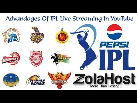 Advandages Of IPL Live Streaming In YouTube