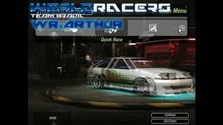 NFSU2 - Circuit Outer Ring - World Record - 59.82