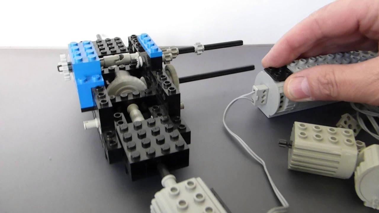 Vintage Lego Technic 45v Battery Box 2 X Motor 2 Switches 2