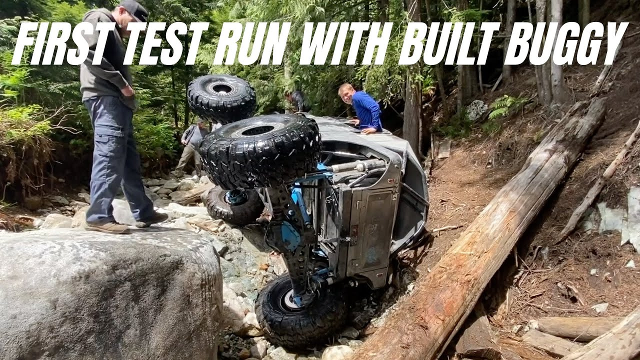 4X4 Off Road Buggy Test Run