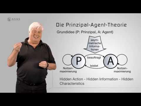 Die Prinzipal-Agent-Theorie. Das Prinzipal-Agent-Modell.