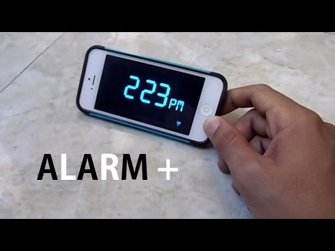 BEST ALARM APP FOR IPHONE ( IT WILL FORCE YOU TO WAKE UP ) #HEAVY_SLEEPERS