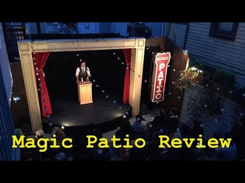 live from the magic patio episode v