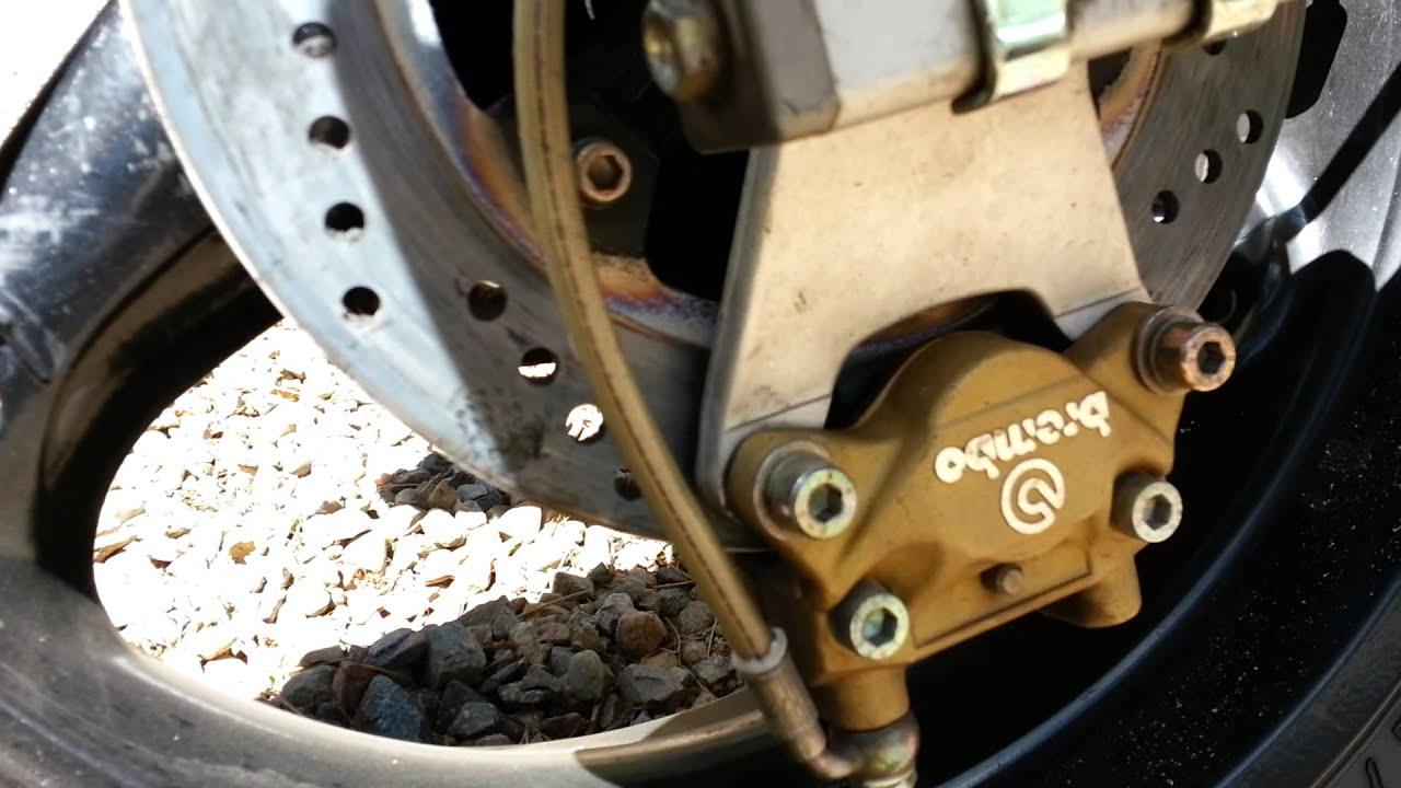 Ducati Rear Brake Problems