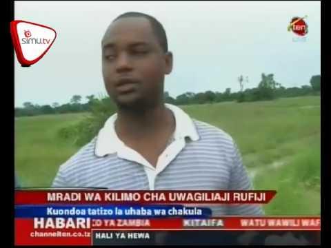 Mradi Wa Kilimo Cha Umwagiliaji Wakamilika Rufiji