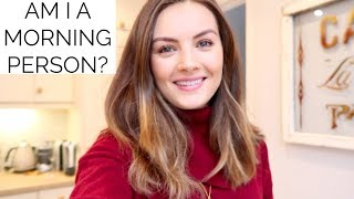 Am I A Morning Person? | VLOG