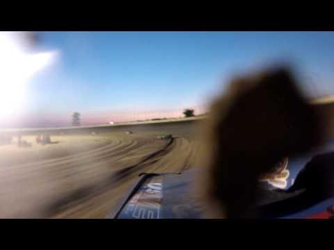 Aj cline clay county speedway heat race 8/3/13