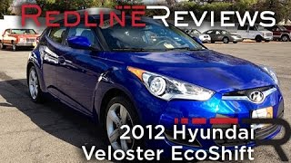 2012 Hyundai Veloster EcoShift Review, Walkaround, Exhaust, Test Drive(Help us grow so we can bring you more videos! Like us on Facebook @ http://www.Facebook.com/2Redline More like an Accent coupe in its driving dynamics., 2012-12-22T21:59:50.000Z)