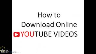 how to download online youtube  videos
