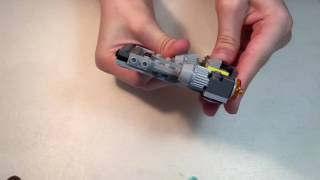 Lego!StarWars!Собираем Лего Звездные войны,космический корабль с войнами и пушками!