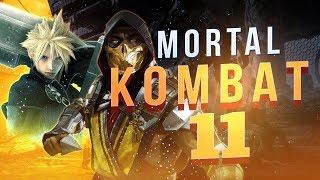 MORTAL KOMBAT 11 Wygląda Znakomicie! +  Final Fantasy VII Remake