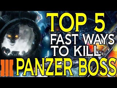 """""""Der Eisendrache"""" 5 Ways How To Kill Panzer Fast! Der Eisendrachen """"How To Kill Panzer Fast"""""""