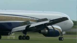 Boeing 767 Aircraft at London Stansted #Boeing767 ABX Air, UPS United Parcel Service