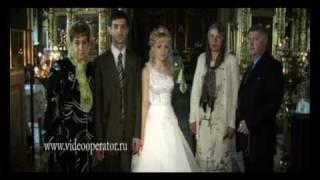 Красивое венчание в церкви