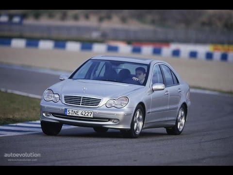 Обзор Mercedes C200 (W203)  YouTube