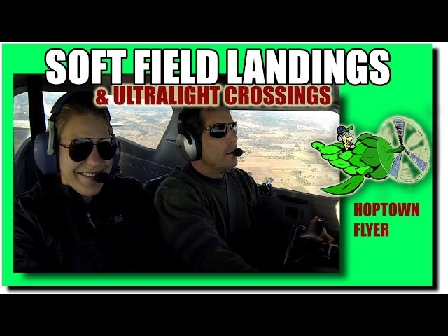 C150: Soft-Field (Grass) Landings + Cockpit Audio