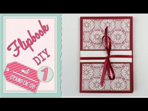 Weihnachten mit Stampin' Up | Flipbook #01