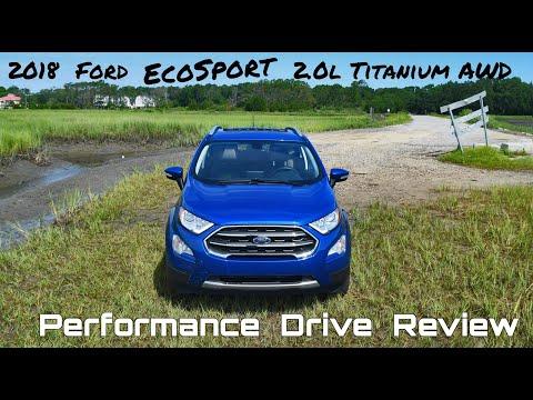2018 Ford Ecosport 20l Titanium Awd Performance Drive