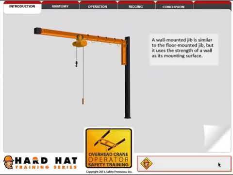 Overhead Crane Online Course | Online Safety Training