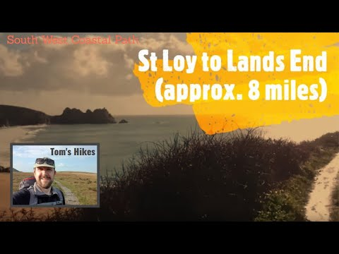 St Loy to Lands End (approx. 8 miles) - South West Coast Path walk