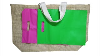 5 Easy and Awesome Ideas Of Carry Bags To Do At Home | Fabric Bag Reuse