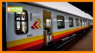 President Kenyatta launches city commuter train