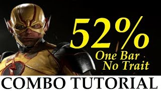 INJUSTICE 2 - The Flash - 52% One Bar NO TRAIT