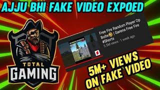 5M+ VIEWS ON FAKE VIDEO | AJJUBHI TOTAL GAMING FAKE VIDEOS EXPOSED | TOTAL GAMING | AVENGER GAMING
