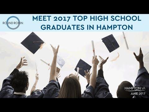 Meet Hampton's top high school graduates for 2017