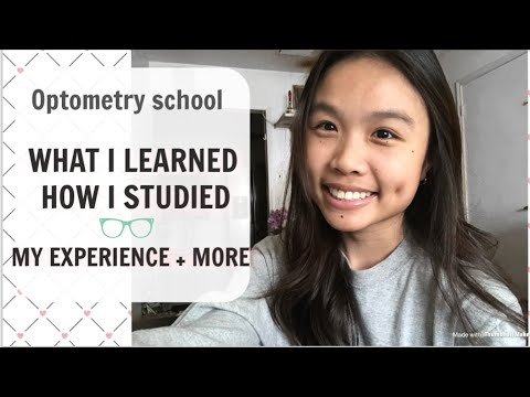 My first semester of OPTOMETRY SCHOOL experience! What I learned + how it went! | Optometry Student