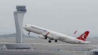الخطوط الجوية التركية تنهي مهمة نقل أسطولها إلى مطار إسطنبول الجديد…