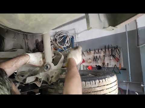 Замена задней балки на Haima 3 M своими руками