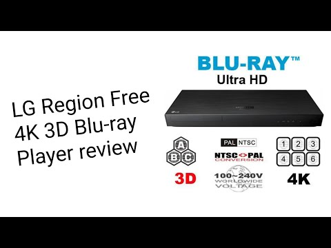 Review: LG Region Free 4K 3D Blu-ray Player