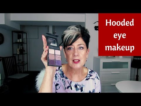 Makeup for Older Hooded Eyes Women Over 60+