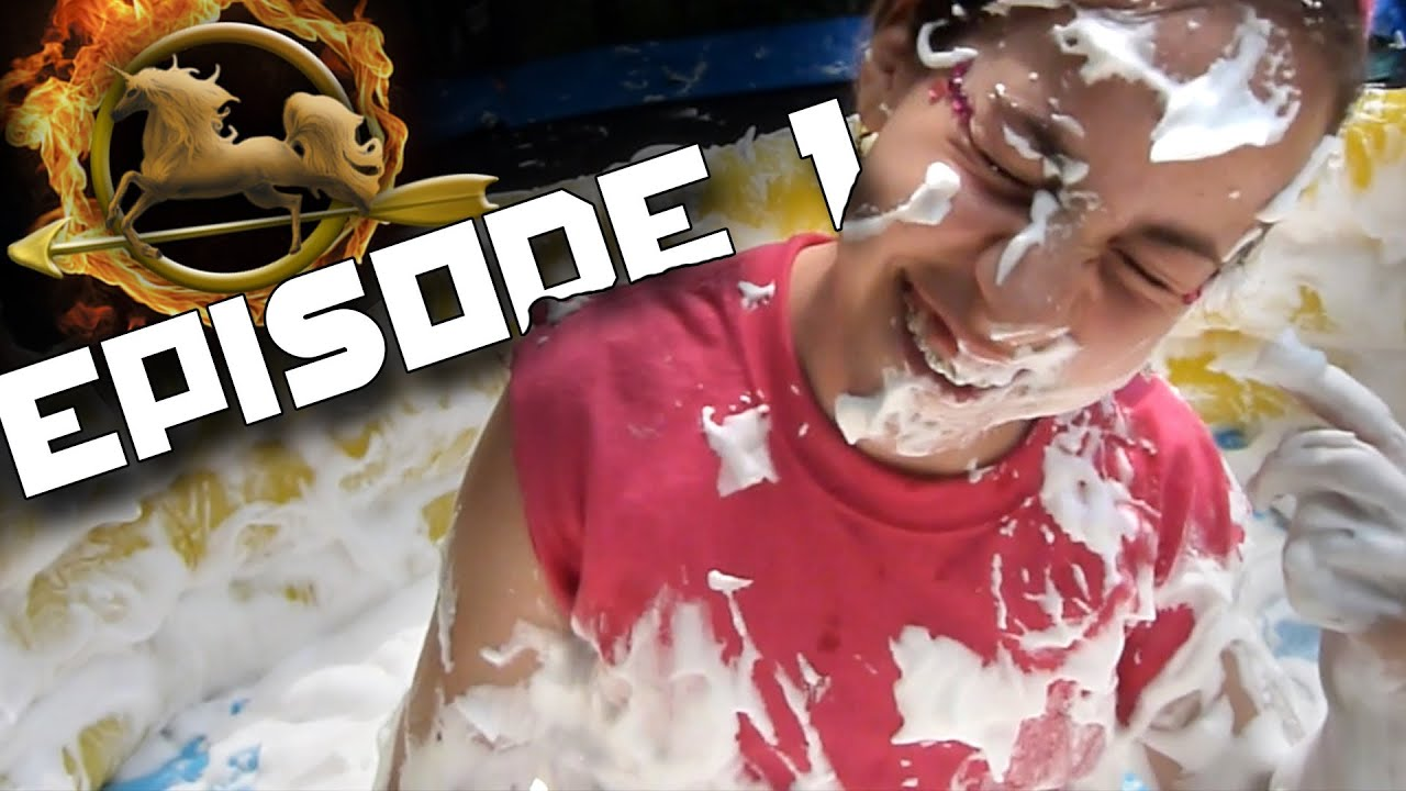 episode 1 cornucopia backyard hunger games youtube